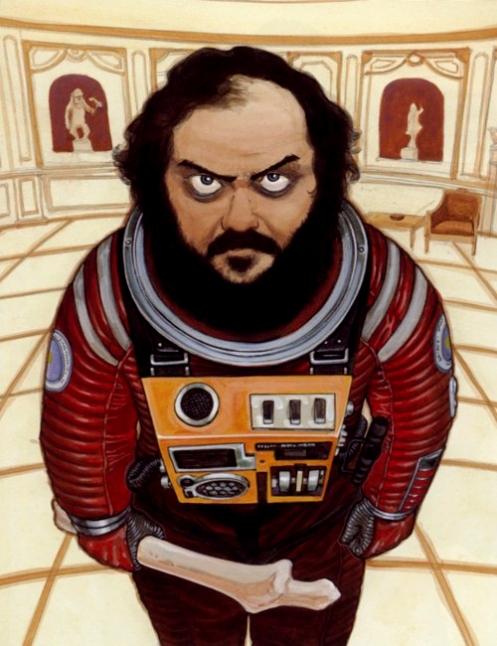 Stanley Kubrick by Katsuhiro Otomo (creator of AKIRA)