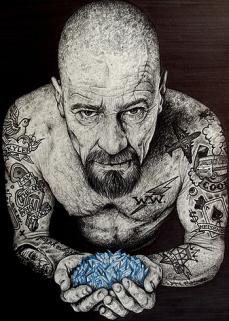 Ilustração por Wayne Maguire
